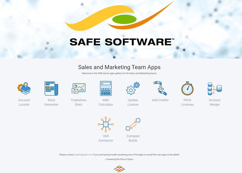 FME服务器应用程序