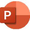 Microsoft PowerPoint徽标