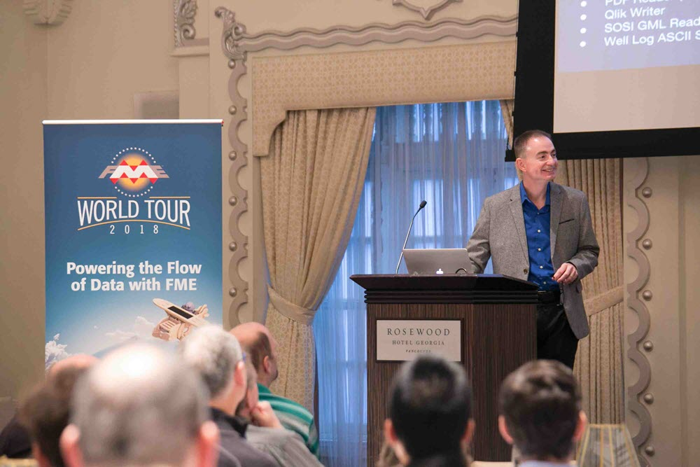 Presentation at World Tour
